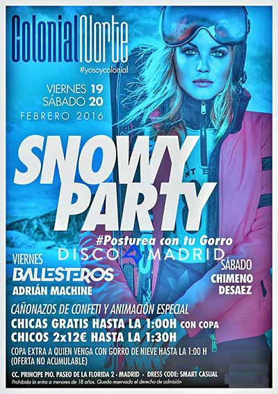Flyer Colonial Norte 19 y 20 febrero 2016