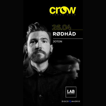 Flyer Crow Rodhad 26 abril 2019