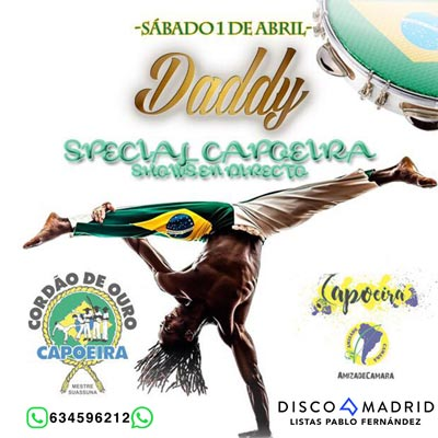 Flyer discoteca Daddy 1 abril 2017