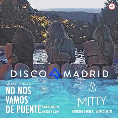 Flyer Mitty Madrid 19 marzo 2016