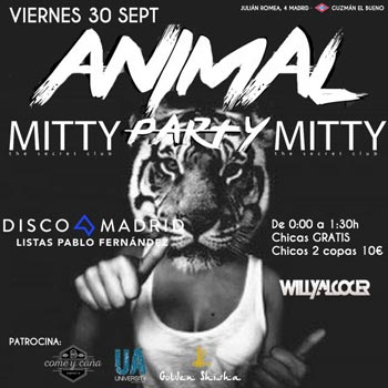 Flyer Mitty 30 septiembre 2016