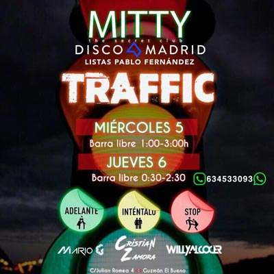 Barra Libre Mitty 5 y 6 abril 2017