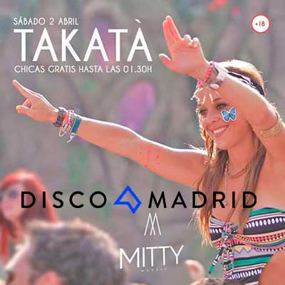 Flyer Mitty Madrid 2 abril 2016