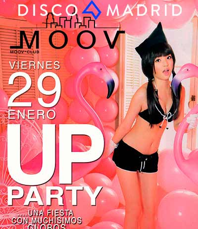 Flyer Up Party Moov 29 Enero 2016
