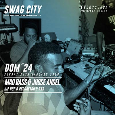 Flyer Swag City 24 enero 2016