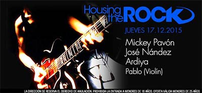 Fiesta Housing the Rock en Kapital 17 diciembre 2015