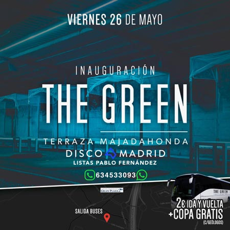 Inauguración The Green 26 mayo 2017