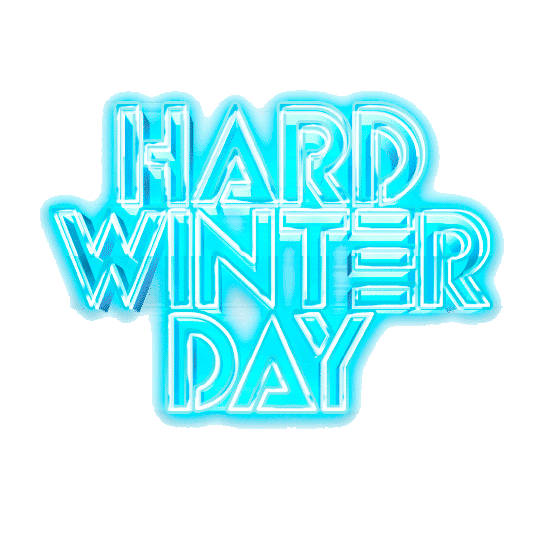 Logo Hard Winter Day