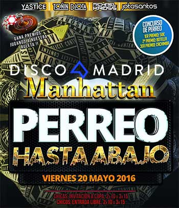 Flyer Manhattan 20 mayo 2016