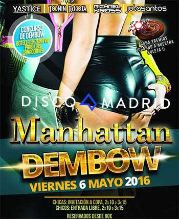 Manhattan Dembow Party Mayo 2016