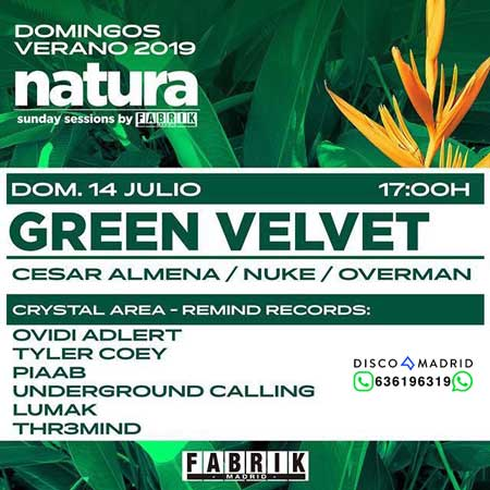 flyer natura fabrik domingo